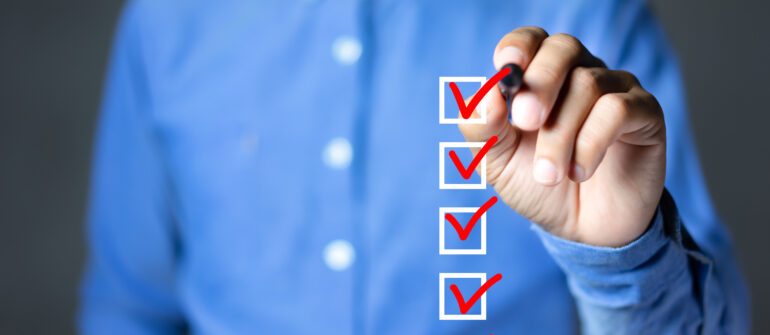 DCAA Compliance Checklist